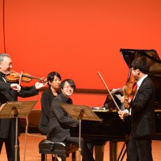 NHK交響楽団第1コンサートマスター 篠崎史紀 ヴァイオリンリサイタル ご来場ありがとうございました