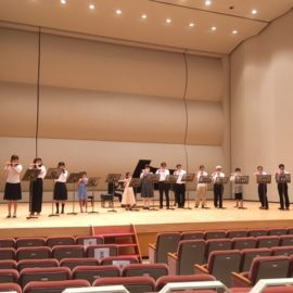 はじめてのフルート教室発表会&中野真理フルート演奏会 ご来場ありがとうございました