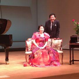 熊本マリ&石田純一 『作曲家のラブレター』 ご来場ありがとうございました