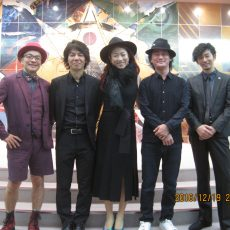 果奈&秋田慎治カルテット・クリスマスジャズポップスナイト ご来場ありがとうございました
