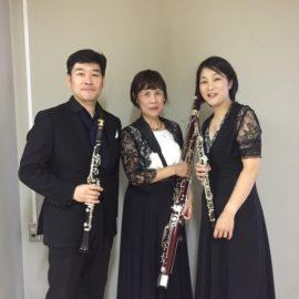 NHK交響楽団メンバーによる木管三重奏 トリオ・サンクァンシュ ご来場ありがとうございました
